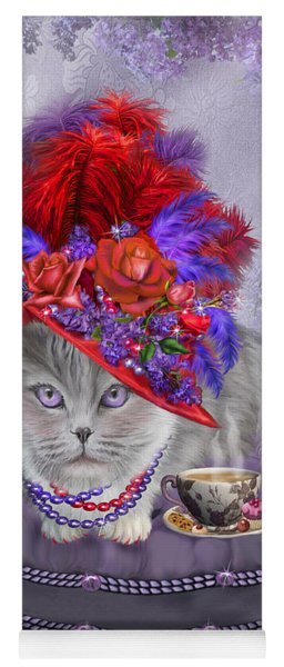 Cat In The Red Hat Yoga Mat