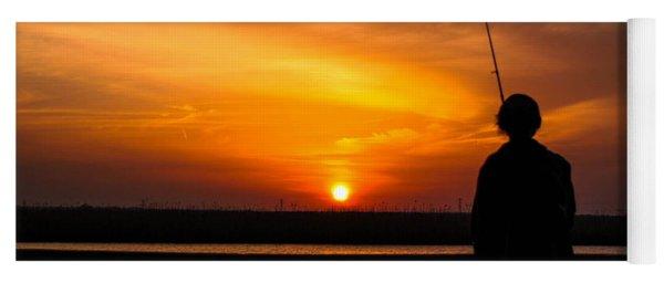 Catching The Sunset Yoga Mat