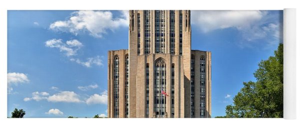 Cathedral Of Learning Pittsburgh Pa Yoga Mat