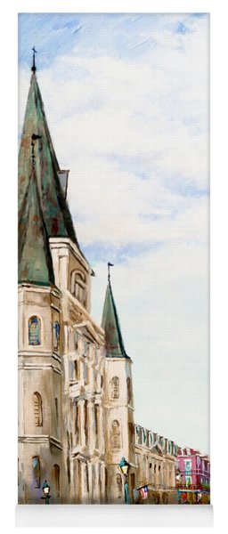 Cathedral Plaza - Jackson Square, French Quarter Yoga Mat