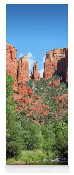 Cathedral Rock Sedona Yoga Mat