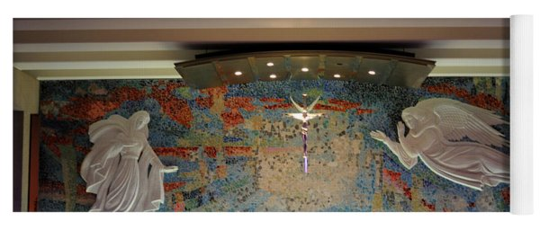 Catholic Chapel At Air Force Academy Yoga Mat