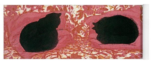 Cats Yoga Mat