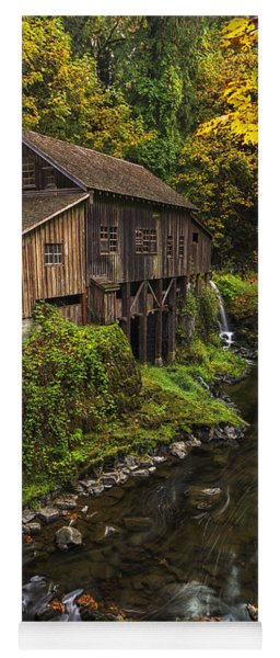 Cedar Creek Grist Mill 2 Yoga Mat
