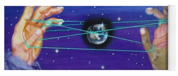 Celestial Cats Cradle Yoga Mat