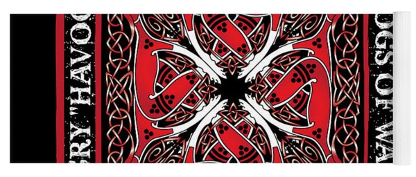 Celtic Dogs Of War Yoga Mat