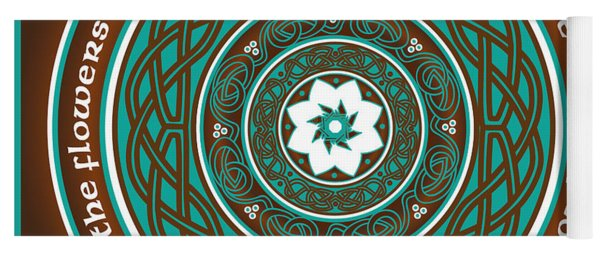 Celtic Lotus Mandala Yoga Mat