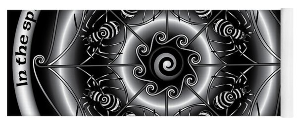 Celtic Spider Mandala Yoga Mat