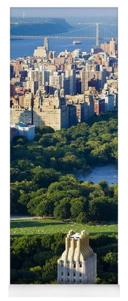 Yoga Mat featuring the photograph Central Park by Brian Jannsen