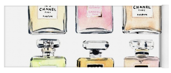 Chanel Perfumes Yoga Mat