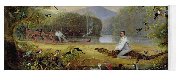 Charles Waterton Capturing A Cayman, 1825-26 Yoga Mat