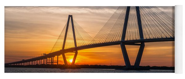 Charleston Sun Setting  Yoga Mat