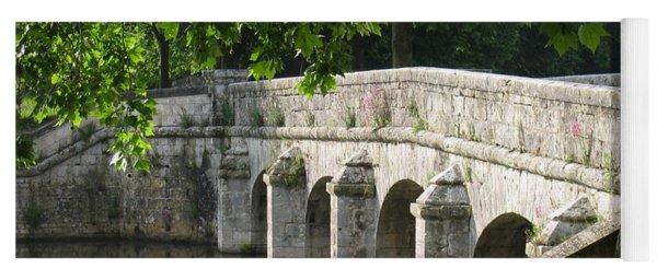 Chateau Chambord Bridge Yoga Mat
