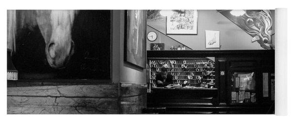 Chelsea Hotel Night Clerk Yoga Mat