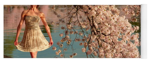 Cherry Blossoms 2013 - 082 Yoga Mat