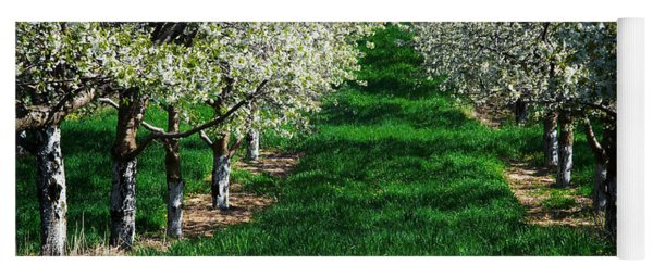 Cherry Orchard Morning Yoga Mat