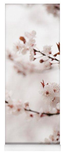 Cherry Plum Blossom Yoga Mat