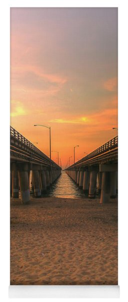 Chesapeake Bay Bridge IIi  Yoga Mat