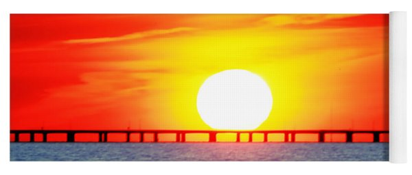 Chesapeake Bay Bridge Yoga Mat