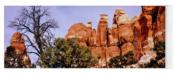 Chesler Park Pinnacles Yoga Mat