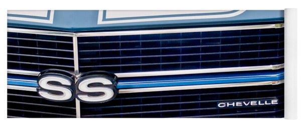 Chevrolet Chevelle Ss Grille Emblem 2 Yoga Mat