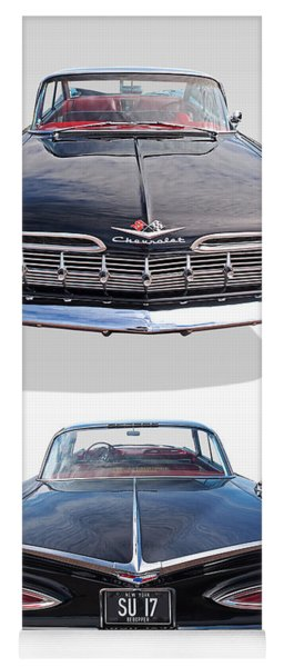 Chevrolet Impala 1959 Front And Rear Yoga Mat
