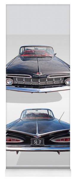 Chevrolet Impala 1959 Front And Rear Yoga Mat