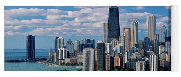Chicago, Lincoln Park & Diversey Harbor Yoga Mat