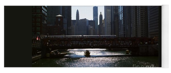 Chicago Morning Commute Yoga Mat