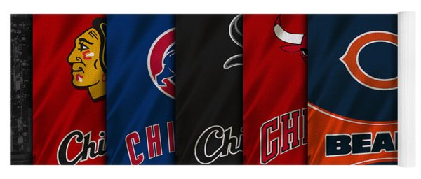Chicago Sports Teams Yoga Mat
