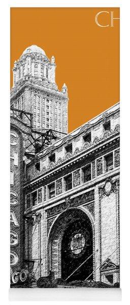 Chicago Theater - Dark Orange Yoga Mat