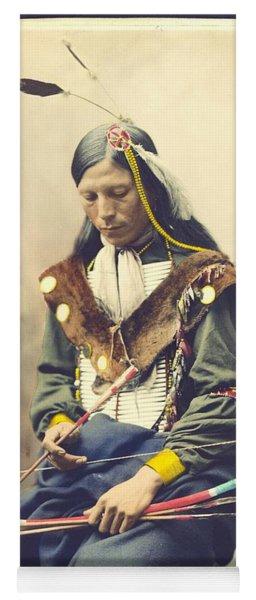 Chief Bone Necklace - Sinte Yoga Mat