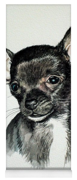 Chihuahua Black 2 Yoga Mat