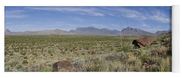 Chihuahuan Desert, Big Bend National Yoga Mat