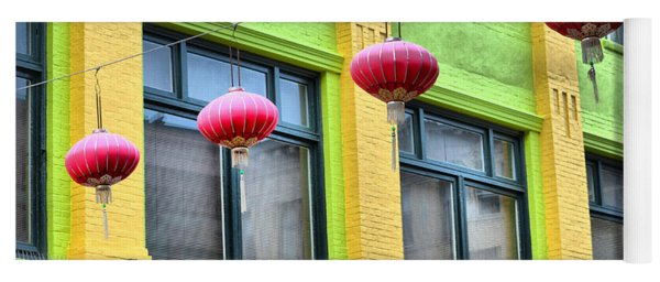 Chinatown Colors Yoga Mat