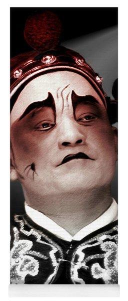 Chinese Opera   Actor Yoga Mat