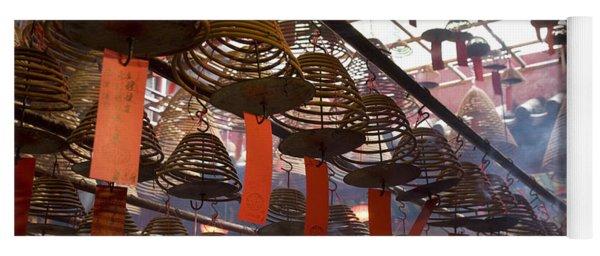 Chinese Red Lantern, Quarry Bay Market Yoga Mat