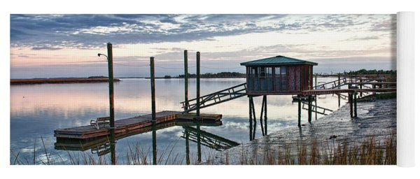 Chisolm Island Docks Yoga Mat