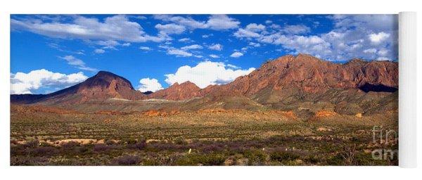 Chisos Mountains, Big Bend, Texas Yoga Mat