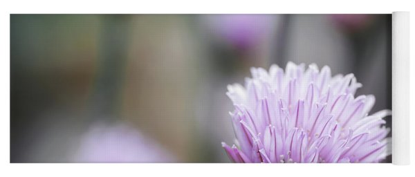 Chives Flowering II Yoga Mat