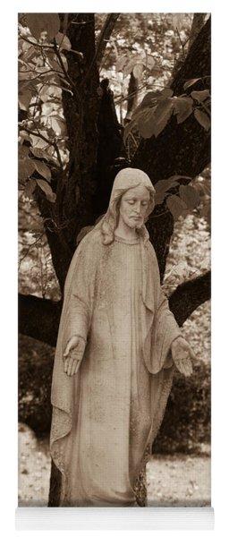 Christ In The Garden Yoga Mat