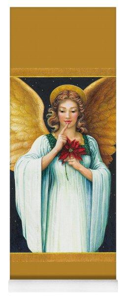 Christmas Angel Yoga Mat