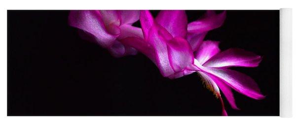 Christmas Cactus Blossom Yoga Mat