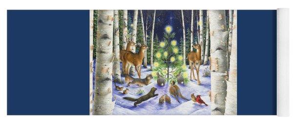 Christmas Magic Yoga Mat