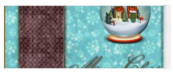 Christmas Card 13 Yoga Mat