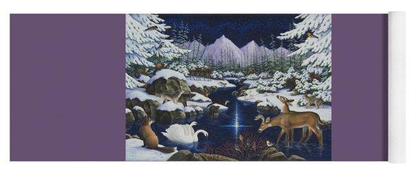 Christmas Wonder Yoga Mat