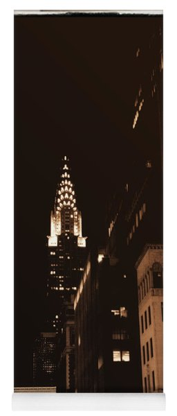 Chrysler Building Yoga Mat