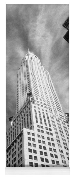 Chrysler Building Infrared Yoga Mat