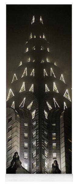 Chrysler Fog Lights Yoga Mat