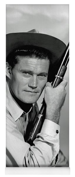Chuck Connors - The Rifleman Yoga Mat